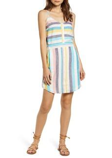 Splendid St. Barths Stripe Linen Blend Sundress