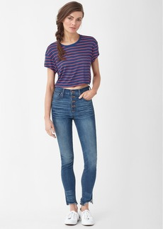 Splendid Stripe Crop Tee