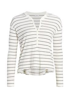 Splendid Stripe Henley T-Shirt