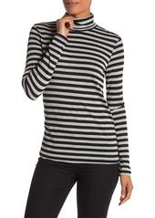 Splendid Stripe Knit Turtleneck