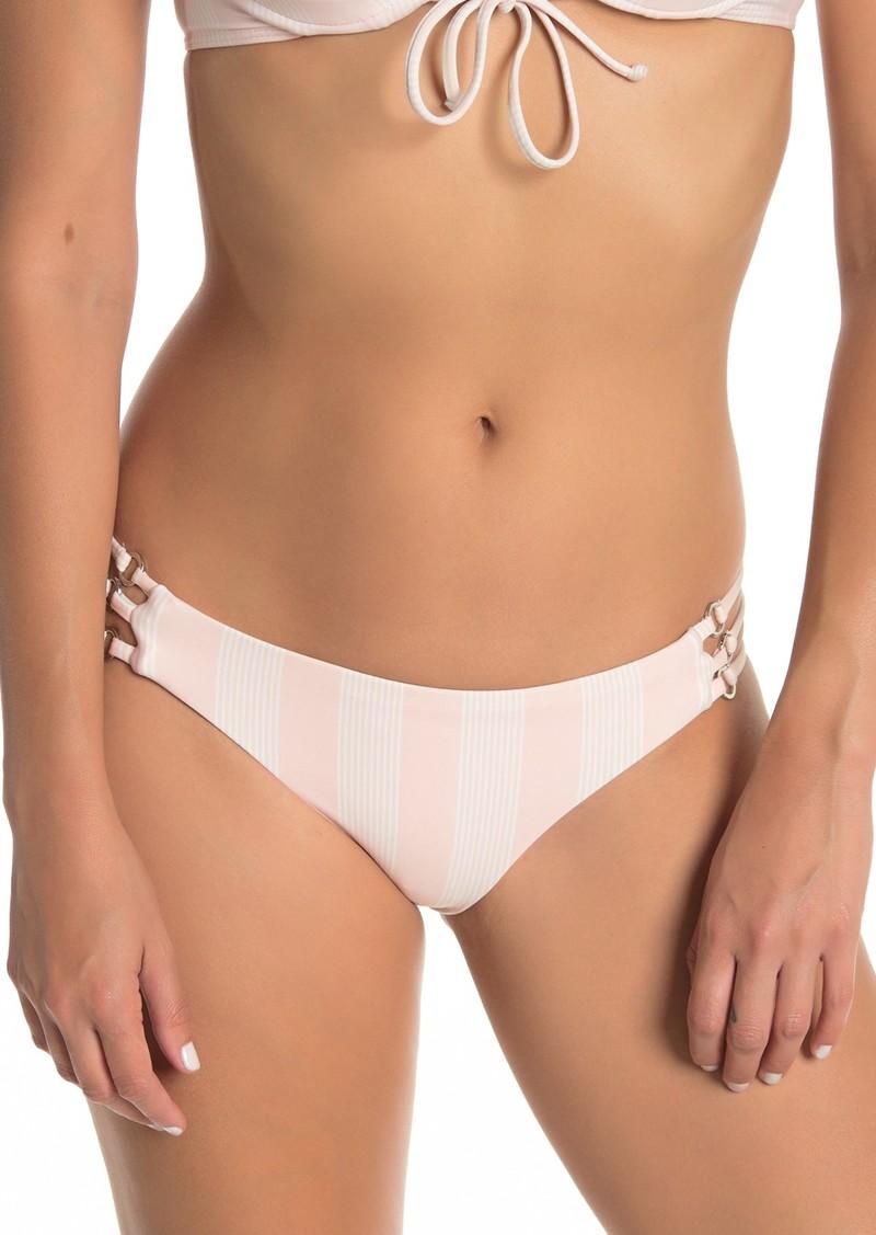Splendid Stripe Print Bikini Bottoms