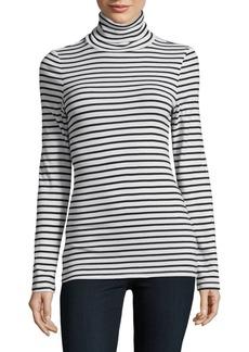 Splendid Striped Turtleneck Pullover