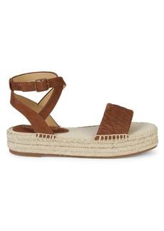 Splendid Seward Suede Platform Sandals