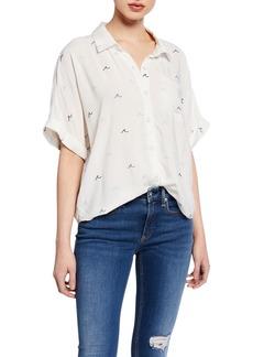 Splendid Summer Time Button-Down Shirting