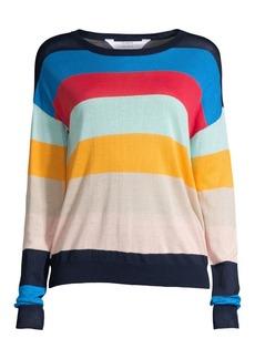 Splendid Sunray Linen-Blend Sweater