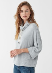 Splendid Super Soft French Terry Cowl Neck Pullover