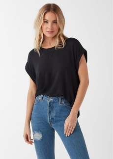 Splendid Super Soft French Terry Short Sleeve Pullover