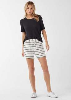 Splendid Supersoft French Terry Stripe Active Short