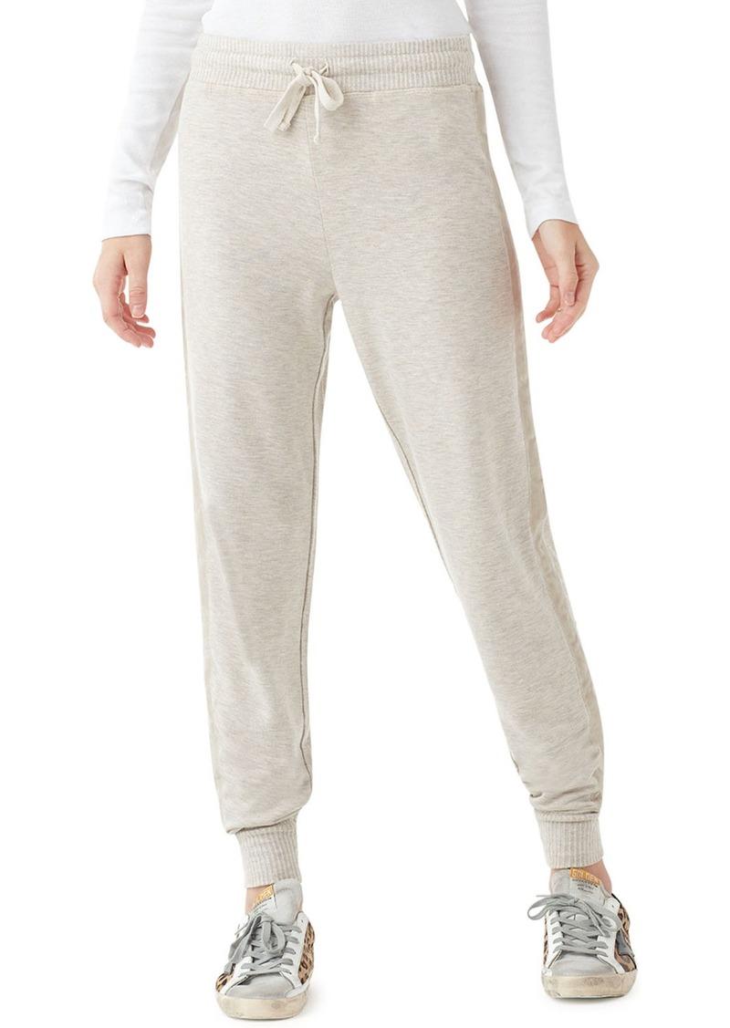 Splendid Super-Soft Jogger Pants w/ Velvet Trim