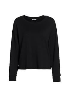Splendid Supersoft Velvet Pullover