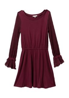 Splendid Sweater Sleeve Dress (Big Girls)