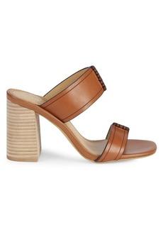 Splendid Tacy Double Strap Leather Sandals