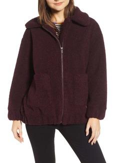 Splendid Teddy Faux Shearling Fleece Jacket