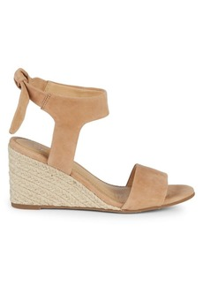 Splendid Tesla Suede Wedge Sandals