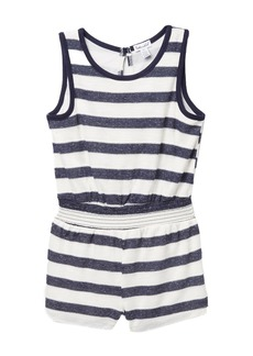 Splendid Textured Striped Romper (Toddler Girls)