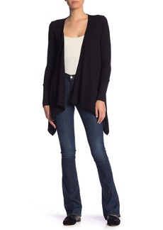 Splendid Thermal Drape Front Cardigan