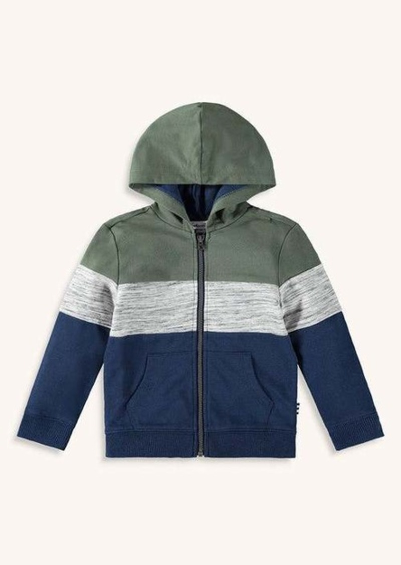 Splendid Toddler Boy Leveled Stripe Hoodie