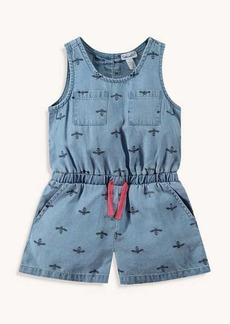 Splendid Toddler Girl Bee Print Romper