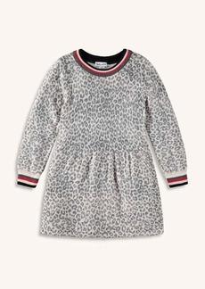 Splendid Toddler Girl Leopard Sweater Knit Dress