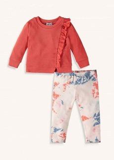 Splendid Toddler Girl Tie Dye Legging Set