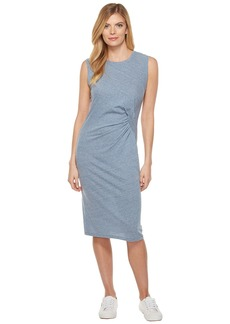 Splendid Tri-blend Jersey Pleat Dress