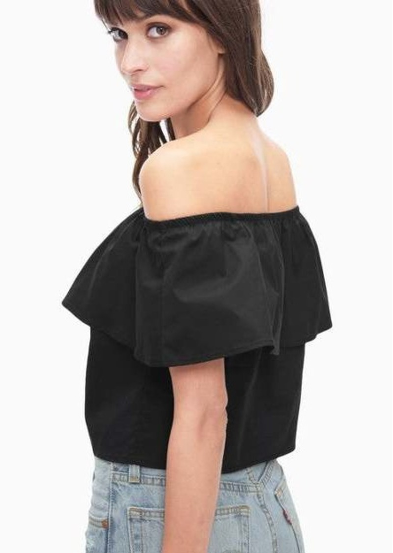 Splendid Tropic Off Shoulder Top