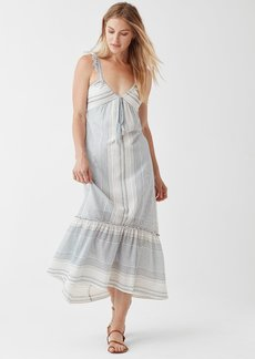 Splendid Tulum Stripe Tie Dress
