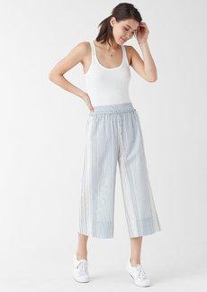 Splendid Tulum Stripe Wide Leg Crop Pant