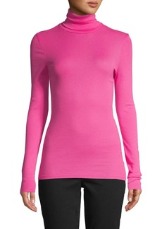Splendid Turtleneck Cotton-Blend Sweater