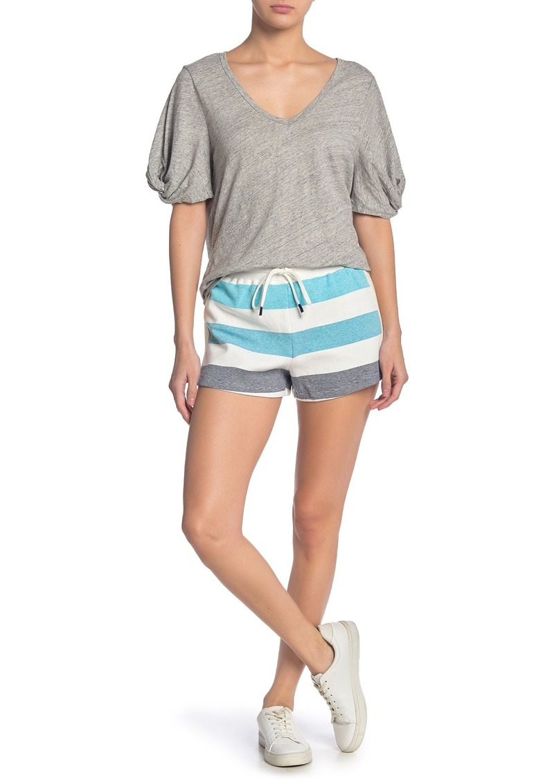 Splendid x Gray Malin Shore Line Shorts