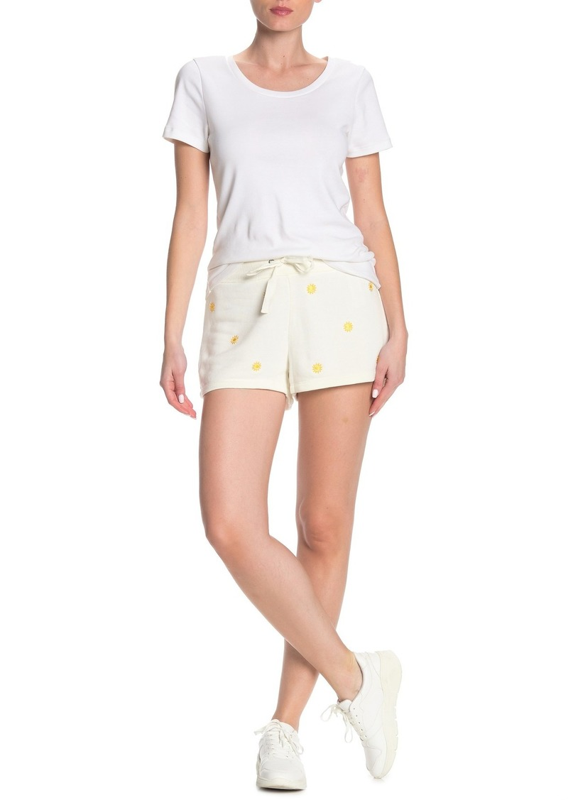 Splendid x Gray Malin Summertime Sun Embroidered Shorts