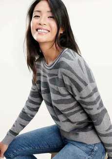 Splendid Zebra Sweater