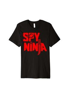 Spy Gaming Ninja Game Boys Girls Kids Cute Ninja Premium T-Shirt
