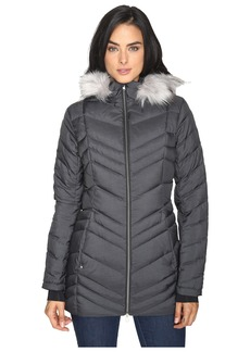 Spyder Timeless Long Faux Fur Down Jacket