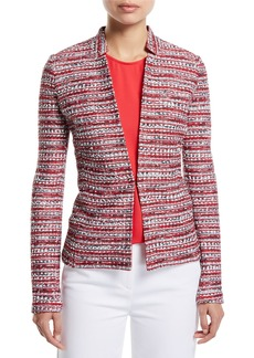 St. John Amelia Tweed Knit Jacket
