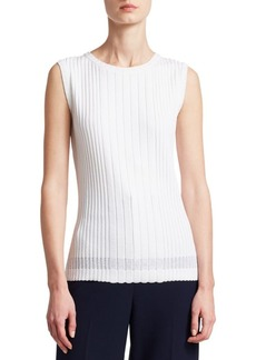 St. John Bree Knit Shell Tank Top
