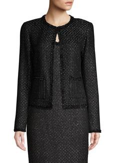 St. John Brocade Shimmer Knit Jacket