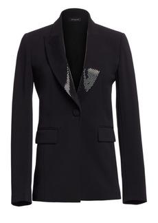 St. John Cady Tuxedo Jacket