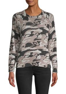 St. John Camouflage-Print Sweater