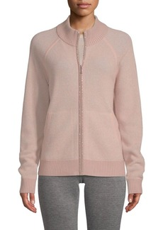 St. John Cashmere-Blend Sparkle Sweater