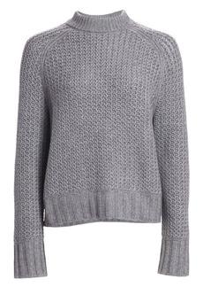 St. John Cashmere Mockneck Sweater