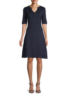 St. John Classic A-Line Dress