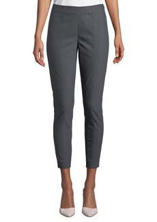 St. John Cropped Scuba Seamed Leggings