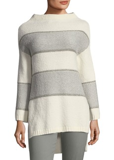 St. John Funnel-Neck Sweater