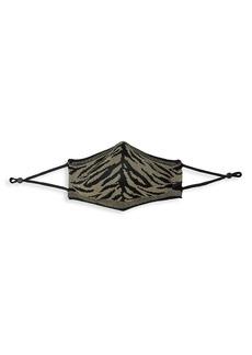 St. John Knit Tiger Stripe Face Mask