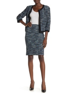 St. John Martinique Tweed Pencil Skirt