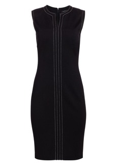 St. John Milano Knit Midi Dress