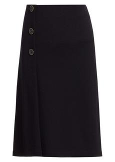 St. John Milano Knit Midi Skirt