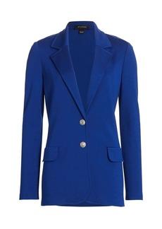 St. John Milano Knit Single Breasted Jacket