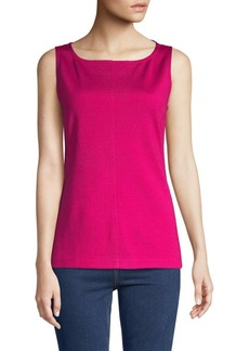 St. John Milano Sleeveless Top